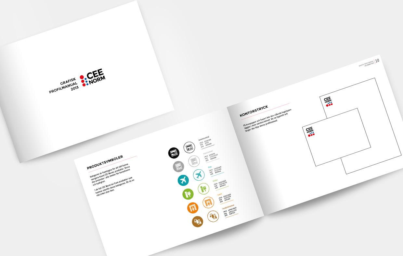 Grafisk profilmanual CEE Norm