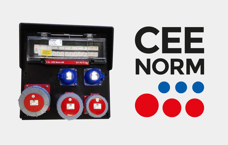 Logotyp CEE Norm