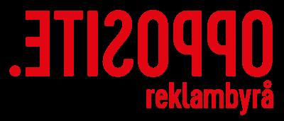Opposite Reklambyrå Logotyp