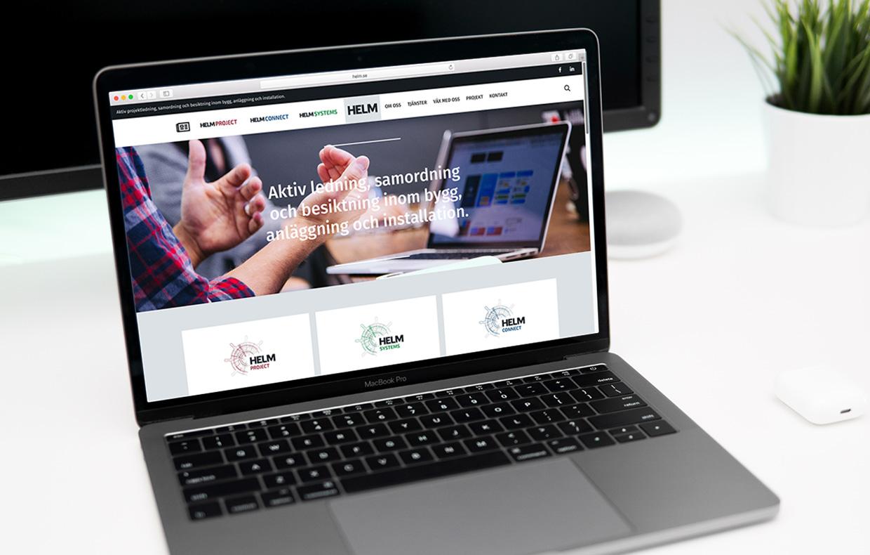 Webbplats för Helm