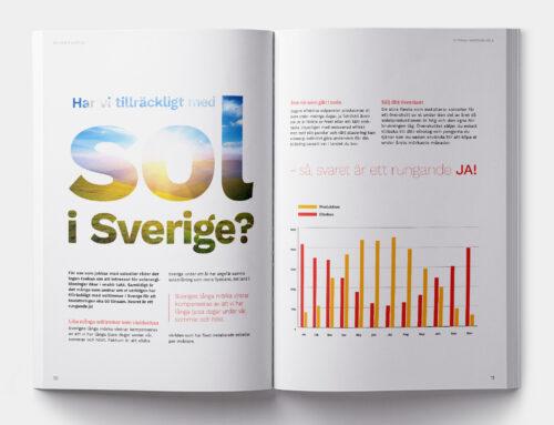 Broschyr Solkraft Sverige